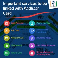 Important Services to be linked with Aadhaar card